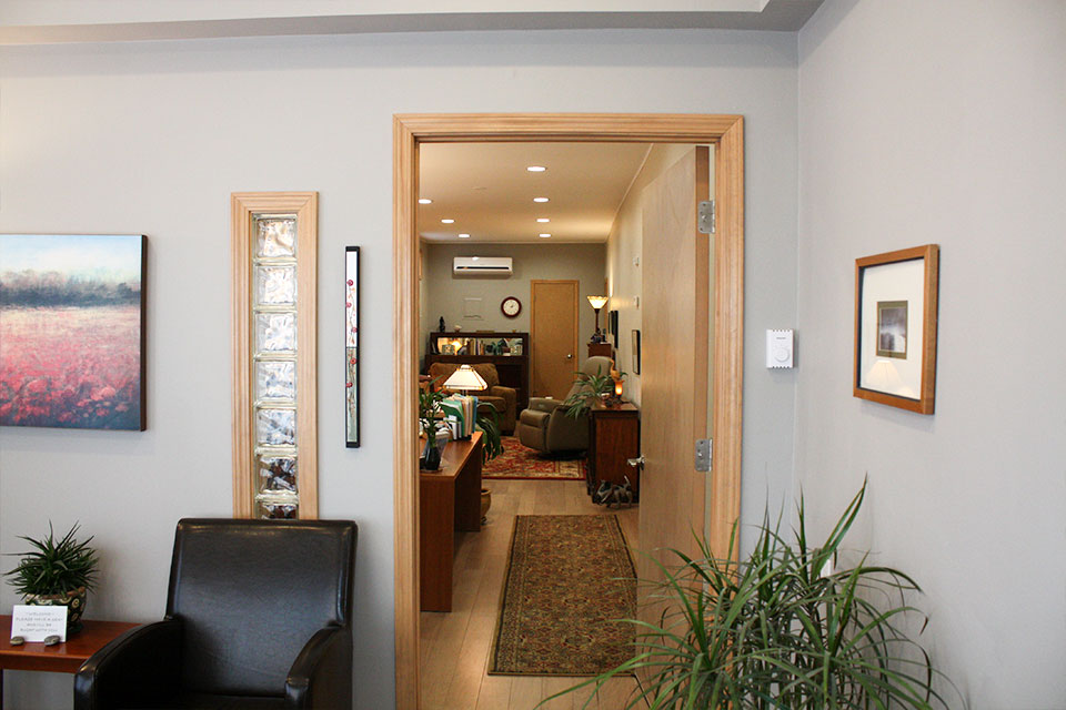Office From Lobby